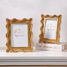 〖洋碼頭〗美國洛可哥風樹脂金色相框歐式創意輕奢壁飾畫框飾品 shx463