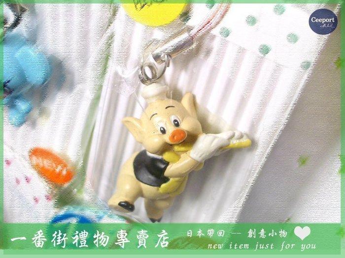 一番街禮物專賣店*日本帶回*超可愛三隻小豬娃ㄦ吊飾~附盒裝~就買它!