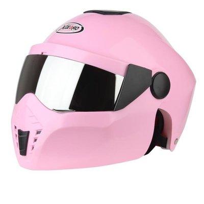 摩托車頭盔男士電動車頭盔女防紫外線防雨安全帽雙鏡片