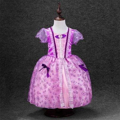 歐美時尚童話公主裙/萬聖節/寫真/表演(C款-蘇菲亞)(現貨)送皇冠