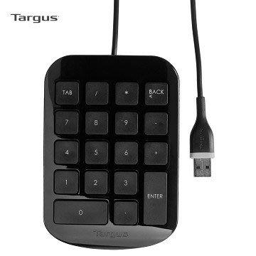 【電子超商】Targus 黑潮數字鍵盤 (AKP10AP)