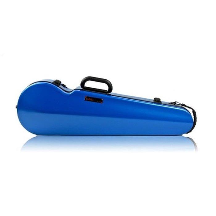 【華邑樂器10075-4】BAM 2002XLB 4/4小提琴琴盒-藍色 (附收納袋 原廠公司貨)