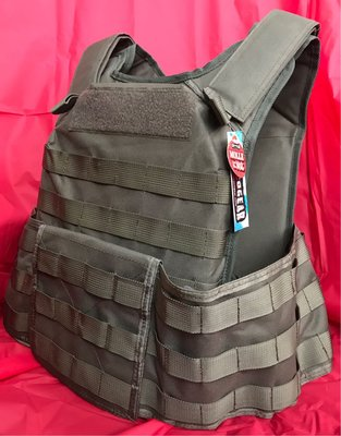 MOLLE Body Armor with Tools Bag-Green