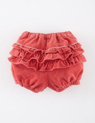 [[W&R]] ((0-24m)) 英國 Mini Boden 屁屁ruffle 燈籠褲 12m 現貨 (紅色)