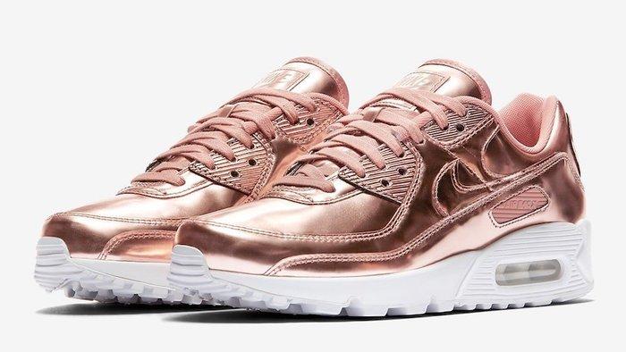 【紐約范特西】預購 Nike Air Max 90 Metallic Rose Gold 玫瑰金 CQ6639-600