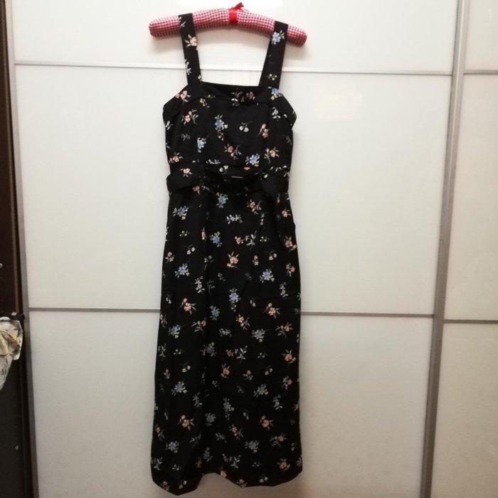 日本專櫃品牌majestic legon碎花吊帶背心裙