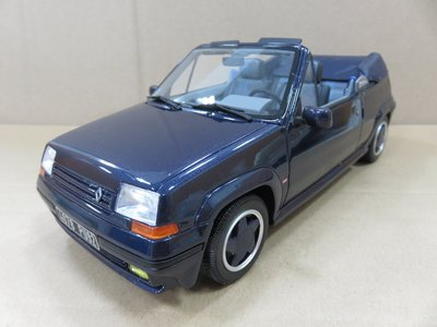 =Mr. MONK= OTTO Renault 5 GT Turbo Cabriolet By EBS