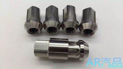 正 64-鈦合金仿盜鋁圈螺絲/鈦燒色/原色 12mm 1.5牙 1.25牙 IS300 WRX ALTIS HONDA