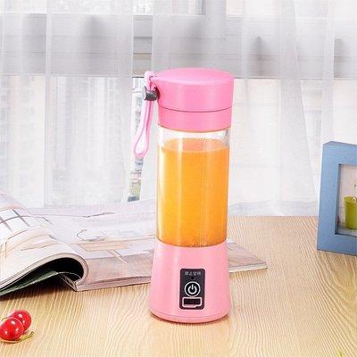 榨汁機 便攜式家用全自動果汁杯手拿迷你型水果針隨身攜帶便捷~