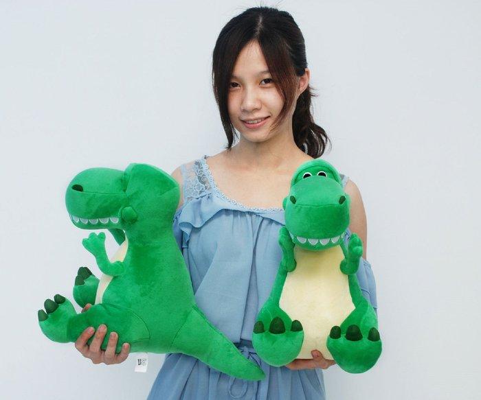 拉拉小站~正版玩具總動員~超可愛抱抱龍玩偶~恐龍娃娃~高35公分熱門商品~~
