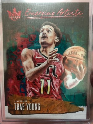 Trae Young 2018-19 Court Kings Emerging Artists 新人特卡 限量99張