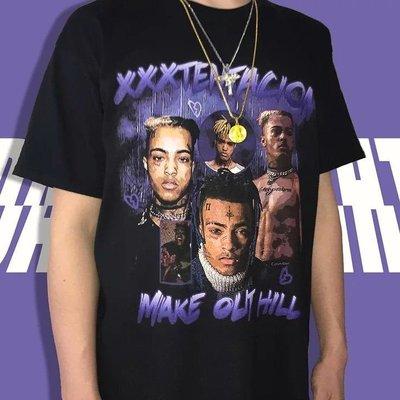 美國進口 饒舌歌手 XXXTentacion 紀念 短T 嘻哈 饒舌 HIP HOP RAP 尺寸:S~2XL