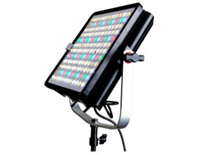 九晴天 租LED~VISIO PASOLITE 100M 攝影燈出租 (2800K-6500K六色溫)