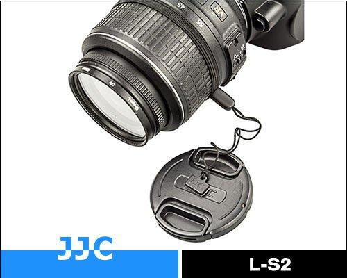 又敗家JJC防丟繩L-S2鏡頭繩原廠鏡頭蓋不丟防失繩孔繩子Nikon Canon Sony Pentax Panasonic Olympus富士Fujifilm