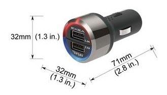 24V 12V夠好 純正日本進口車用精品百貨 SEIKO 4.8A雙USB點煙器電源插座擴充器EM-157GO-FINE