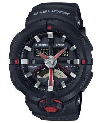 【東洋商行】免運 CASIO 卡西歐 G-SHOCK 前衛時尚渾圓大錶殼設計城市運動概念錶 GA-500-1A4DR 手