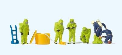 傑仲 (有發票) 博蘭 公司貨 Preiser 人物組 Firemen with green 10731 HO