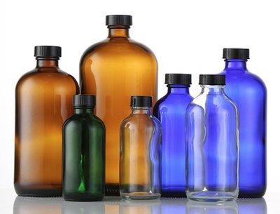 標準版~藍色精油瓶(普通蓋)分裝瓶☆ VITO zakka ☆ 香水瓶化妝水瓶瓶瓶罐罐團購批發250ml~500ml