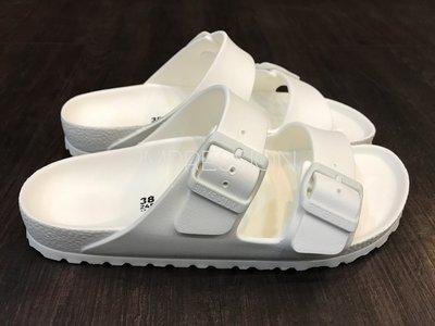 【IMPRESSION】BIRKENSTOCK ARIZONA EVA 129443 防水 橡膠 女生 勃肯 涼鞋 白 台中市