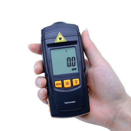 【玩具貓窩】標智雷射數字轉速表GM8905 非接觸轉速計 光電轉速儀 轉速測量儀