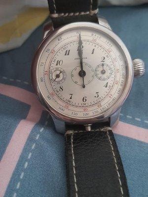 omega神級經典單拔計時機械錶