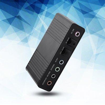 6聲道聲卡USB外部數字光學SPDIF音頻輸出適配器       晴天雜貨鋪#8887