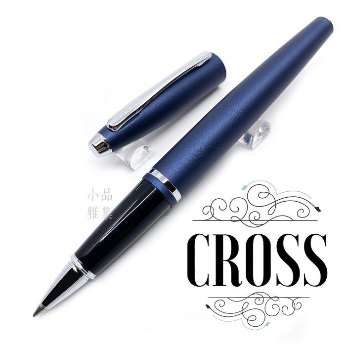 =小品雅集= Cross 高仕 凱樂系列 霧藍白夾 鋼珠筆