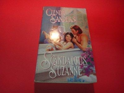 【愛悅二手書坊 01-39】Scandalous Suzanne       Glenda Sanders
