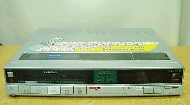 【小劉2手家電】超清楚的日本製SONY BETA放影機,SL-20型,壞機可修/抵!