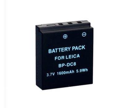 徠卡X LEICA X2 X1 MINI-M X-VARIO電池 BP-DC8 typ113 TYP 107 莢卡 XV