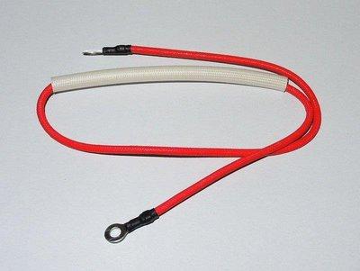 (A58)15A 250V 216度C 溫度保險絲 組(2mm玻璃絲編織耐熱紅線)