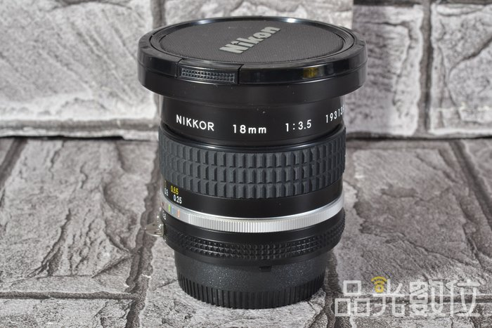 【品光攝影】Nikon NIKKOR AIS 18mm F3.5 定焦 超廣角 手動 #70391