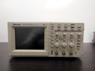弘燁科技-Tektronix TDS220 Digital Oscilloscope 100 MHz,2CH /維修另洽