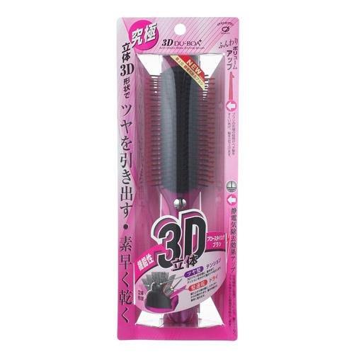 [霜兔小舖]日本代購 日本製 IKEMOTO   3D 池本梳子  除靜電 蓬鬆 快乾梳子