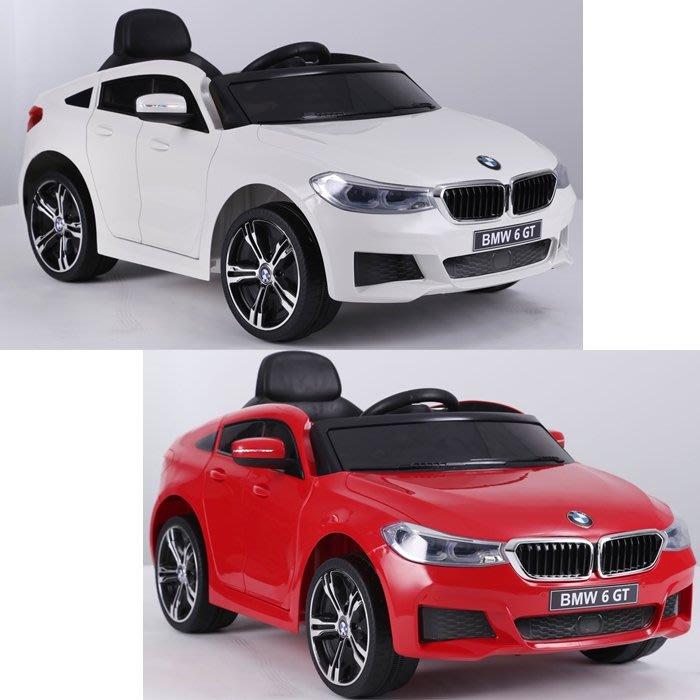 CHING-CHING親親-BMW 6GT(可遙控)兒童電動車(白色/紅色)RT-2164