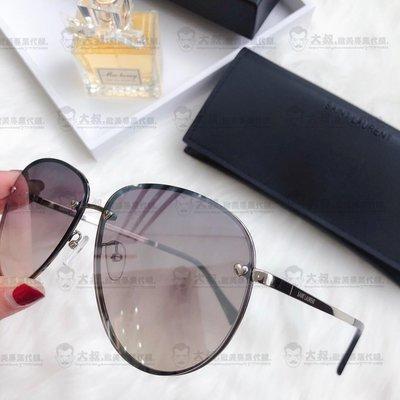 【大叔歐美代購】YSL yves saint laurent 時尚飛行 女款太陽眼鏡 墨鏡顏色1 歐洲限量代購