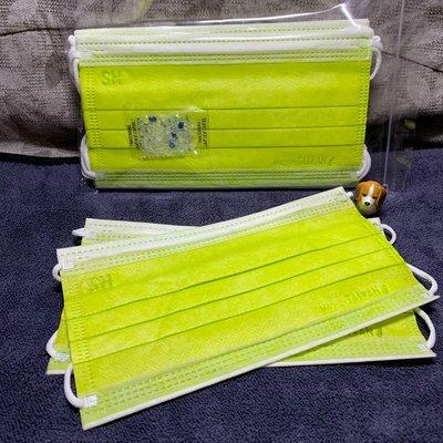 現貨上好🌈酪梨綠🌈成人平面口罩(10入)