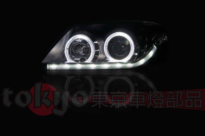 @Tokyo東京車燈部品@CAMRY 09 10 11 6.5代 R8雙色燈眉 光圈魚眼大燈組