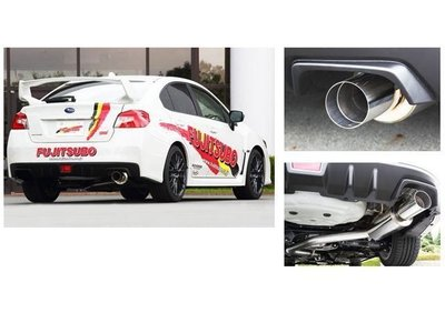 日本 Fujitsubo Authorize RM 藤壺 排氣管 單出 尾段  Subaru WRX STI4 專用