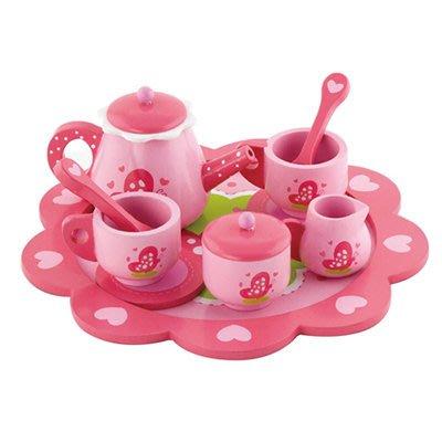 *小貝比的家*VIGA(優質原木教具)-TEA SET 皇家甜心午茶組