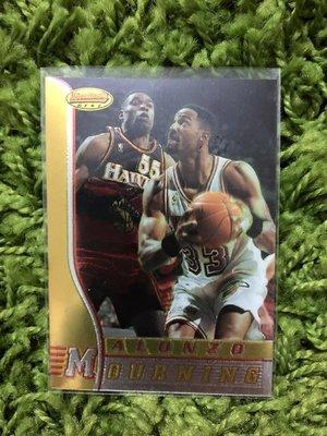 【美】Alonzo Mourning 莫寧1997 Bowmans best #41 熱火隊 NBA 球員卡