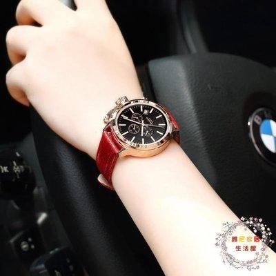 流行女錶新品女士手錶防水時尚款大錶盤正韓學生簡約休閒大氣潮流女錶 JY