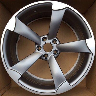 全新AUDI TTRS式樣 5孔112 18吋鋁圈TT/A3/A4/A6/VW/GOLF/SCIROCCO/SKODA