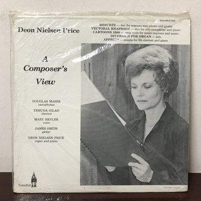 晨雨黑膠【古典】 全新~美版TownHall/Deon Nielsen Price –A Composer's View