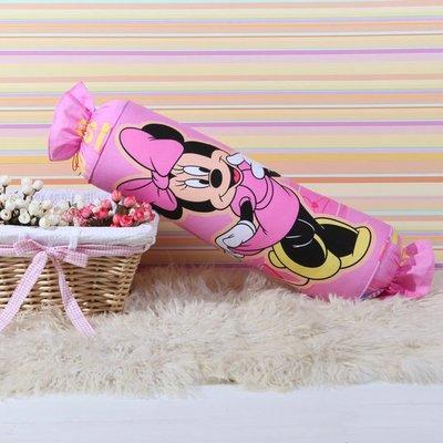 20款 迪士尼 糖果枕 卡通抱枕 全棉靠枕~ 米妮 Minnie 15~45CM