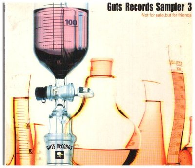 新尚唱片/ GUTS RECORDS SAMPLER 3  二手品-01494935