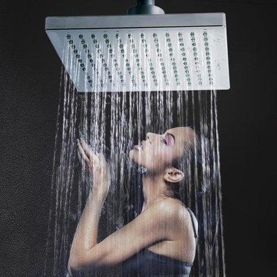 LED七彩會髪光大花灑頂噴頭浴室通用洗澡蓮蓬頭組合 淋浴單頭家用