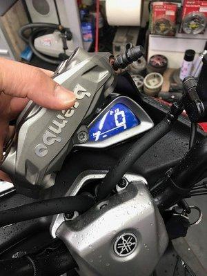 勁戰 SMAX BWS ( SMAX新車拆下) 原廠卡鉗 前輪 左卡鉗 含前卡鉗油管(另有原廠後卡鉗油管)