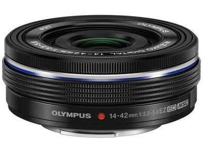 【eWhat億華】Olympus M.ZUIKO DIGITAL ED 14-42mm F3.5-5.6 EZ 電動變焦鏡 M43 適用 平輸 黑色 【3】