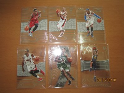 Dwyane Wade/ Carmelo Anthony/ Trey Lyles/ Paul Pierce~壓克力透視卡